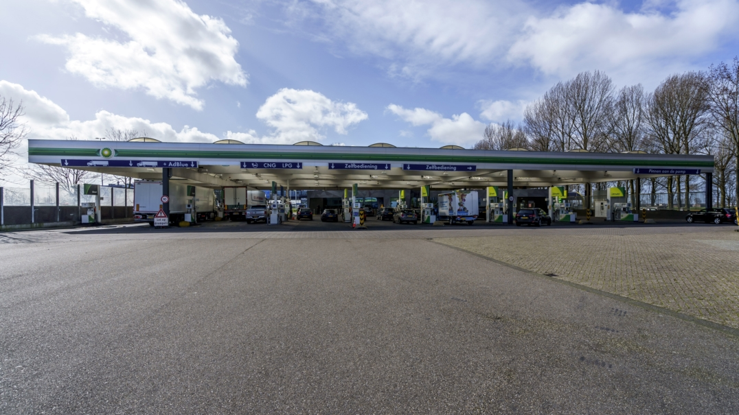 Benzinestation locatie 4. 'Den Ruygenhoek West'