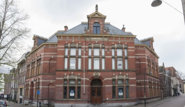 Former court building, Korte Geer 11A in Delft