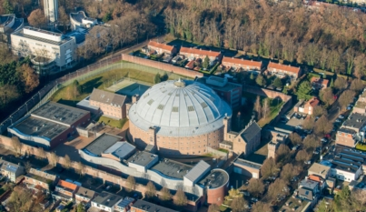 Dome Prison 'De Berg' in Arnhem, Wilhelminastraat 16 in Arnhem